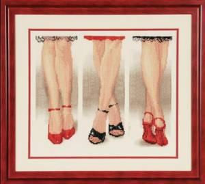 Схема Дамские ножки