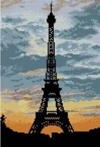 Схема Эйфелева башня