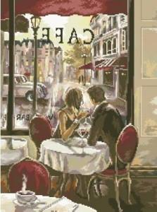 Схема Завтрак в Париже