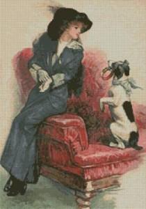 Схема Дама с собачкой