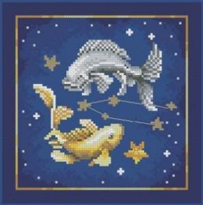 Схема Зодиак. Рыбы.