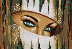Схема Глаза (Бирюза)