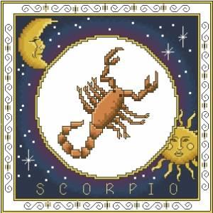 Схема Зодиак. Скорпион