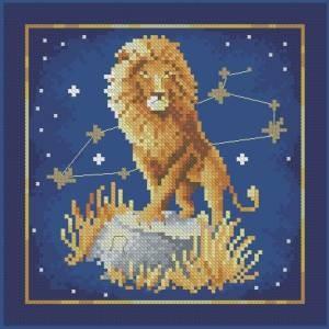 Вышивка лев схемы бесплатно скачать