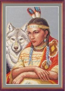 Схема Белая волчица