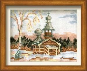 Схема Церковные мотивы. Зима