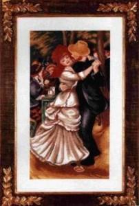 Схема Танцующая влюбленная пара
