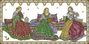 Схема Девушки эпохи ренессанса