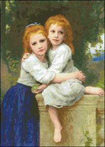 Схема Две сестры