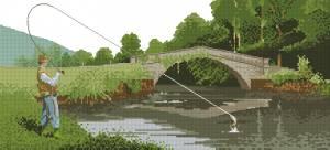 Схема На рыбалке