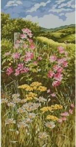 Схема Цветочная поляна