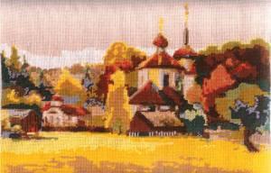 Схема Осенняя деревня