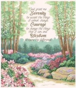 Схема Безмятежность, мужество и мудрость / Serenity, Courage and Wisdom