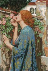 Схема Дама в розах