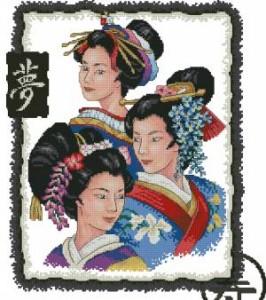 Схема Три гейши