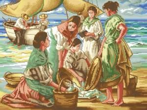 Схема Рыбаки на лодке