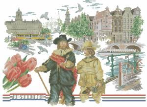 Схема Амстердам. Рембрандт