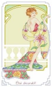 Схема Летние декорации / Ete Decoratif