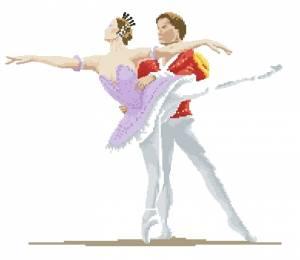 Схема Балетные танцоры / Ballet Dancers
