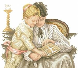 Схема Чтение книги