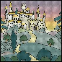 Схема Городской пейзажик