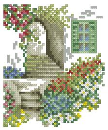 Схема Ступеньки в сад