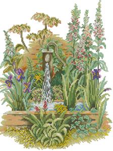 Схема Сад летом
