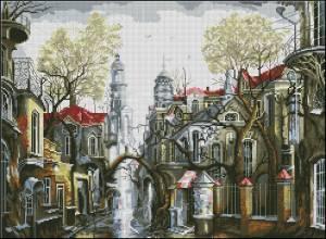 Схема Туманный город