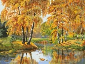 Схема Золотая осень