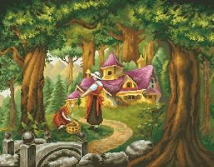 Схема Лесной домик