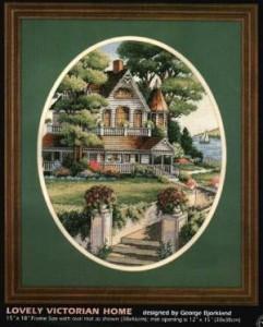 Схема Прекрасный викторианский дом / Lovely Victorian Home