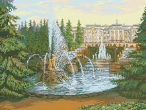 Схема Большой фонтан