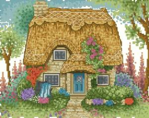 Схема Чудесный домик / Cornish Cream