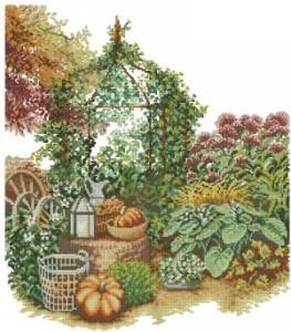Схема Осенний сад