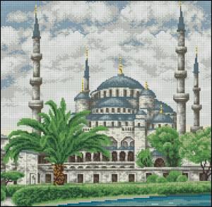 Схема Голубая мечеть