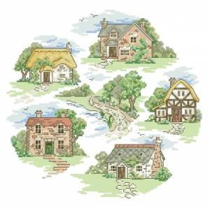 Схема Коттеджи мечты / Dream Cottages