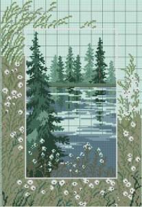 Схема У озера
