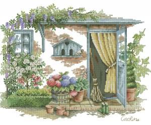 Схема Садовая дверь