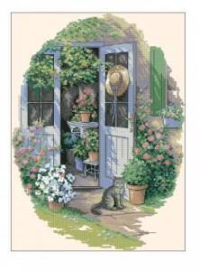 Схема Дверь в сад