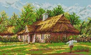 Схема Сельская хата
