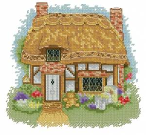 Схема Колыбельная / Lullaby Cottage