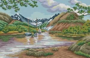 Схема Горная река