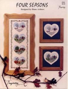 Схема Сезонные сердечки