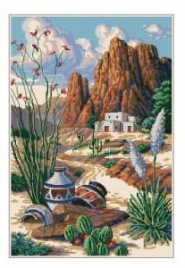 Схема Пейзаж юго-запада