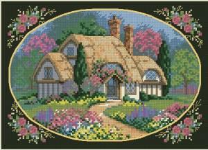 Схема Зачарованный коттедж / Enchanted Cottage