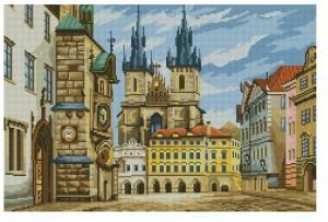 Схема Прага. Площадь
