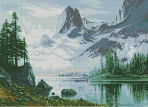 Схема Туман в горах