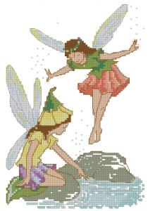 Схема Цветочные феи