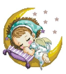 Схема Ангелок на луне