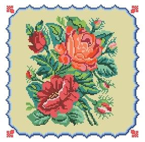 Схема Розы (в рамке)